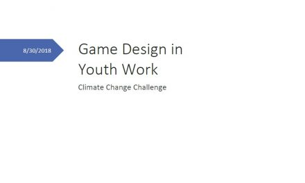 Game Design in Youth Work